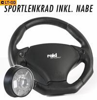 raid Sportlenkrad mit Airbag Sport 320 VW Golf 3