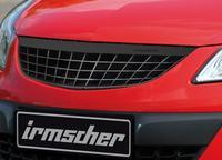 irmscher Frontgrill Opel Corsa D mit Leiste im Carbon-Look ab Bj 05.11 Facelift