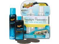 Meguiars Scheinwerfer Restaurierung 2 in 1 Kit Perfect Claritiy Headlight Restoration Kit