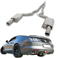 FOX Racinganlage ab Kat. Ford Mustang Coupe & Cabrio 2.3l EcoBoost rechts links je 1x100mm Typ 25