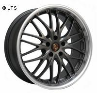 BARRACUDA VOLTEC T6 9x18 LK5x112 ET35 Gun-Metal/Matt-Polished-Lip