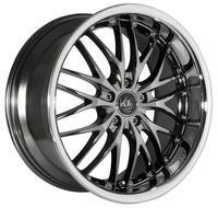 BARRACUDA VOLTEC T6 9x19 LK5x100 ET32 Black-Chrome/Inox-Lip