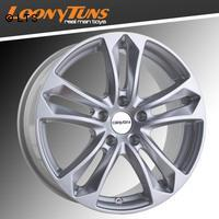 CARMANI 5 Arrow kristall silber 7,5x17 LK5x112 ET35
