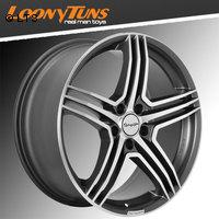 Tomason TN5 gunmetal polished 8,5x19 LK5x108 ET40